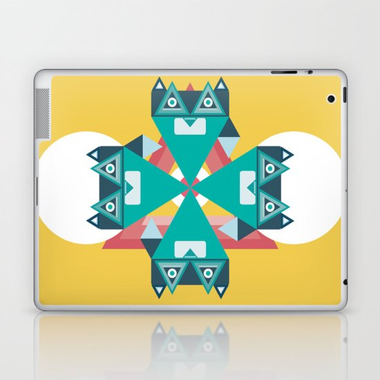 Biconic repetition Laptop & iPad Skin