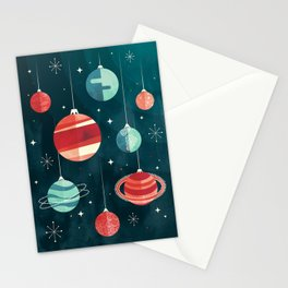 Joy to the Universe (in Teal) Stationery Cards