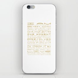 Jonathan Edwards Resolutions iPhone Skin
