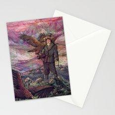 Eagle Huntress Stationery Cards