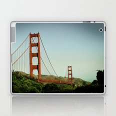 The Golden Gate Bridge at Day Laptop & iPad Skin