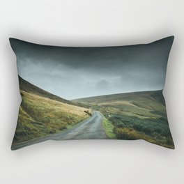 Road into the mountains Rectangular Pillow