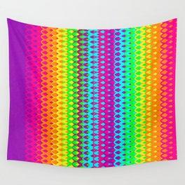Hippy Rainbow Heaven Wall Tapestry