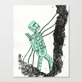 robot showbot Canvas Print