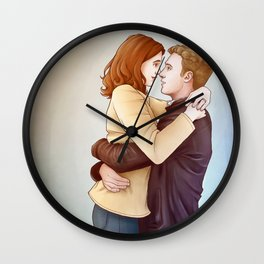 Fitzsimmons - Kisses in the Daylight Wall Clock