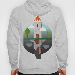 Everything Falls - Two Towers;One Standing, One Fallen Hoody