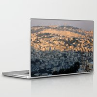 israel Laptop & iPad Skins featuring Jerusalem Living in Israel by Rachel J