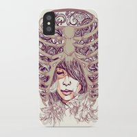 huebucket iPhone & iPod Cases featuring Your Bone by Huebucket