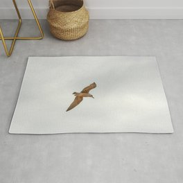 Seagull bird flying Rug
