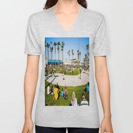 Venice Beach Unisex V-Neck