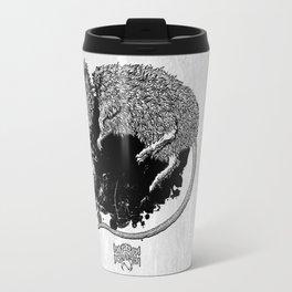 Decapitated by dishwasher I (white) Travel Mug