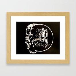 Man on The Moon Framed Art Print