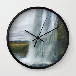 Raining Water Wall Clock