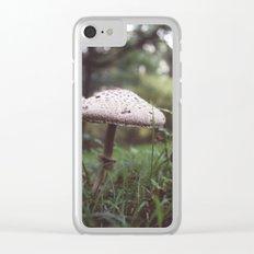 Sylvan Mushroom Clear iPhone Case