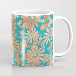 floral corals Coffee Mug