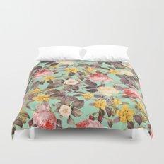 Classic Floral Pattern Duvet Cover
