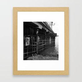 No One Gets In Framed Art Print