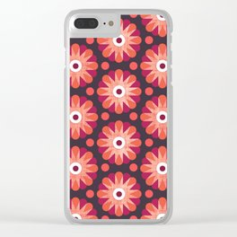 Perilously Pink Clear iPhone Case