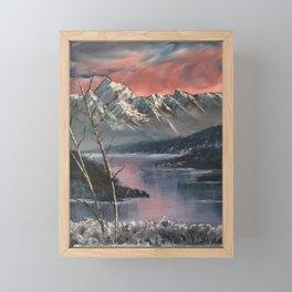 Winter is here Framed Mini Art Print