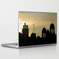 skyline Laptop & iPad Skins featuring Skyline by Dave Forrest, Glasgow, SCOTLAND