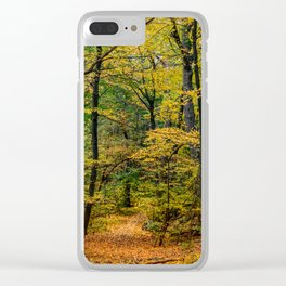 October Forest 3 Clear iPhone Case