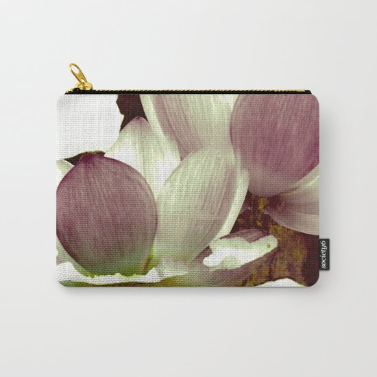 lotus and branch Carry-All Pouch