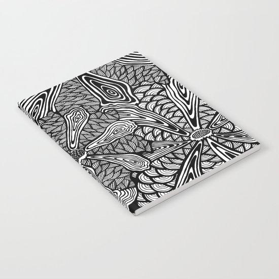 Mandala Flowers  Notebook