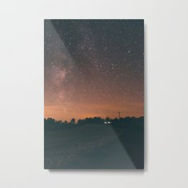 Starry Night I Metal Print