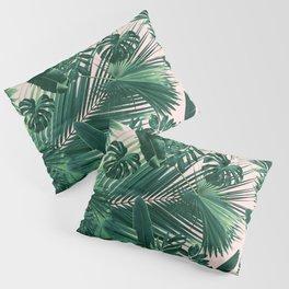 Jungle Leaves Siesta #1 #tropical #decor #art #society6 Pillow Sham