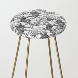 Fetching Florals Counter Stool