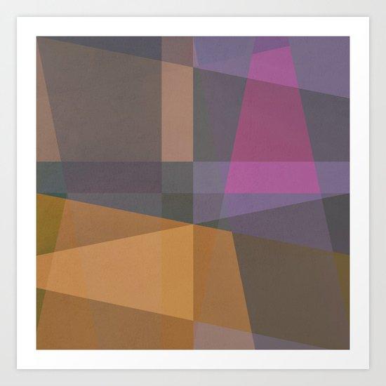The Clearest Line VI Art Print