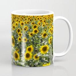 Sunflower Fields Of Summer Coffee Mug