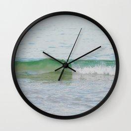 Minute Curl Wall Clock