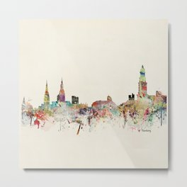 hamburg germany skyline Metal Print