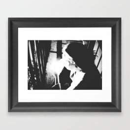 such sweet nothing Framed Art Print