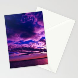 Scituate Reservoir, Rhode Island Late Summer Sunset Stationery Cards