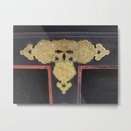 Photographs of Japanese craft works Metal Print