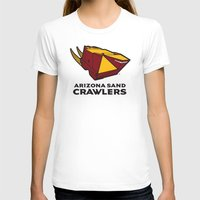 nfl T-shirts featuring Arizona Sandcrawlers - NFL by Steven Klock
