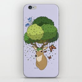 Keeper of the Forest iPhone Skin