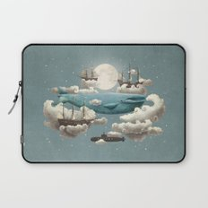 Ocean Meets Sky - colour option Laptop Sleeve