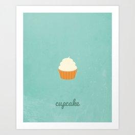 Sweet Tooth - Cupcake Art Print