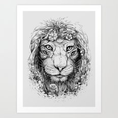 King of Nature Art Print