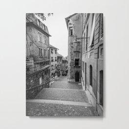 Old Town Geneva Metal Print