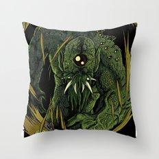 The Unspeakable Guilt Beast Throw Pillow