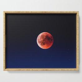 Blood Moon III Serving Tray