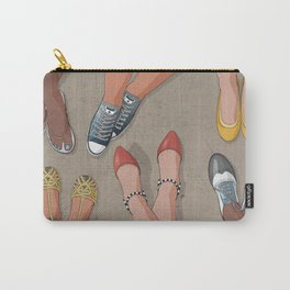 Feet movement under table Carry-All Pouch