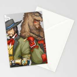 Outfit Swap Stationery Cards