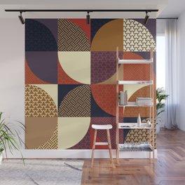 Japanese Patterns 04v Wall Mural