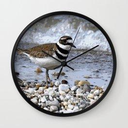 Shore Bird Wall Clock