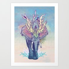 Spirit Animal - Elephant Art Print